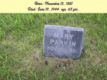 PARKIN PARKIN, MARY - Harrison County, Iowa | MARY PARKIN PARKIN