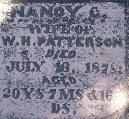 RICHARDSON PATTERSON, NANCY CATHERINE - Harrison County, Iowa | NANCY CATHERINE RICHARDSON PATTERSON