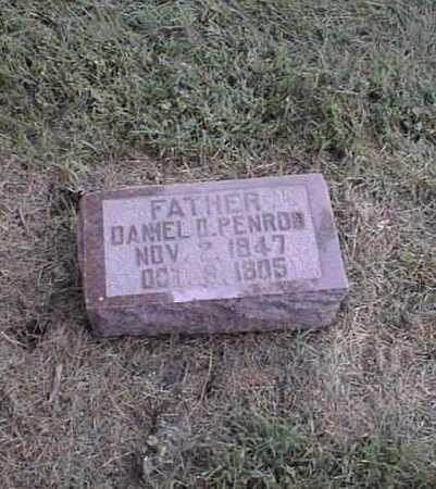 PENROD, DANIEL DARIUS - Harrison County, Iowa   DANIEL DARIUS PENROD