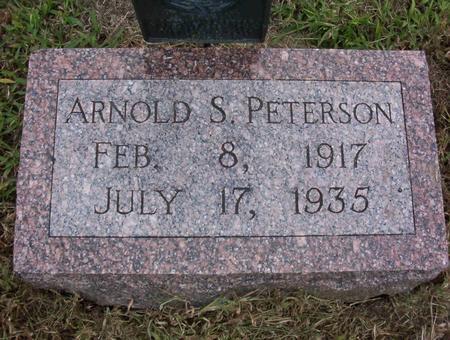 PETERSON, ARNOLD SERENUS - Harrison County, Iowa   ARNOLD SERENUS PETERSON