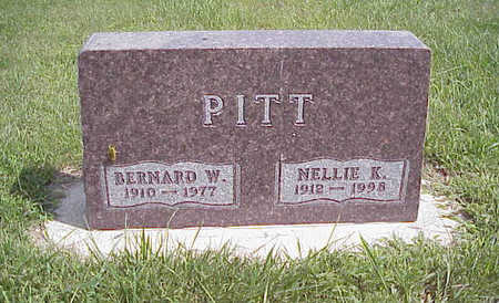 PITT, BERNARD WILLIAM - Harrison County, Iowa | BERNARD WILLIAM PITT