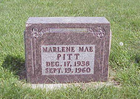 PITT, MARLENE MAE - Harrison County, Iowa | MARLENE MAE PITT