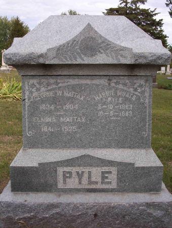 MOATS PYLE, HARRIE - Harrison County, Iowa | HARRIE MOATS PYLE