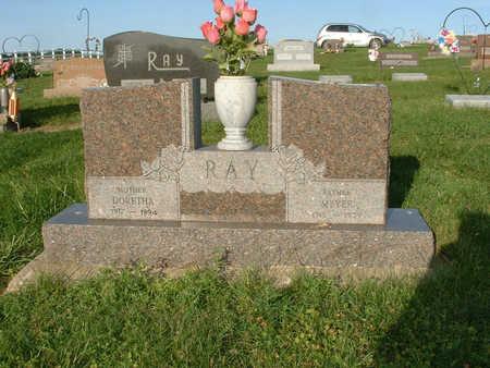 RAY, DORETHA - Harrison County, Iowa | DORETHA RAY