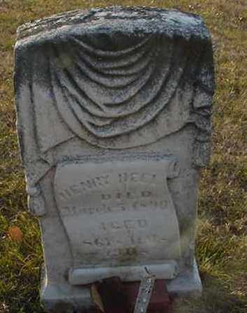REEL, HENRY B. (JR.) - Harrison County, Iowa | HENRY B. (JR.) REEL