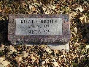 RHOTEN, KIZZIE - Harrison County, Iowa | KIZZIE RHOTEN