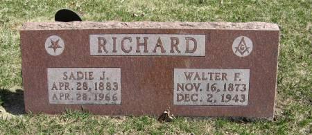 RICHARD, WALTER F. - Harrison County, Iowa   WALTER F. RICHARD