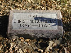 ROTHENAY, CHRISTINE - Harrison County, Iowa | CHRISTINE ROTHENAY