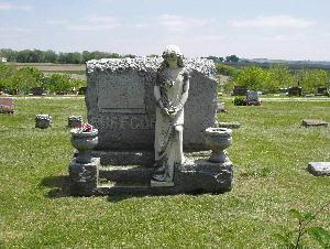 RUFFCORN, FAMILY MONUMENT - Harrison County, Iowa | FAMILY MONUMENT RUFFCORN