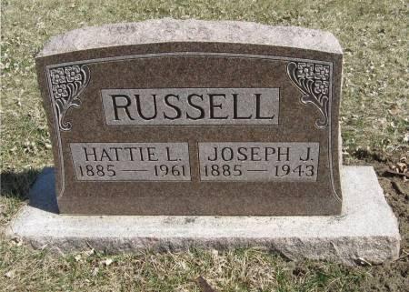 RUSSELL, HATTIE L - Harrison County, Iowa | HATTIE L RUSSELL