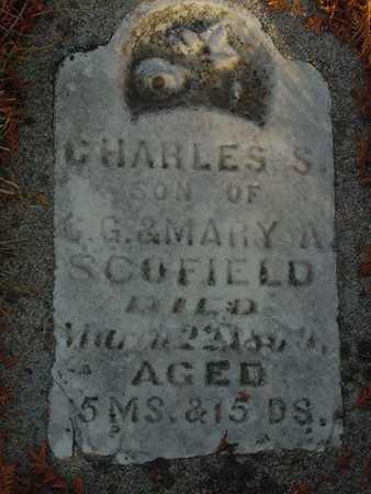 SCOFIELD, CHARLES SHERMAN - Harrison County, Iowa   CHARLES SHERMAN SCOFIELD