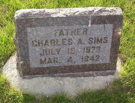 SIMS, CHARLES A. - Harrison County, Iowa   CHARLES A. SIMS