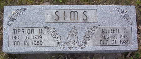 SIMS, MARION