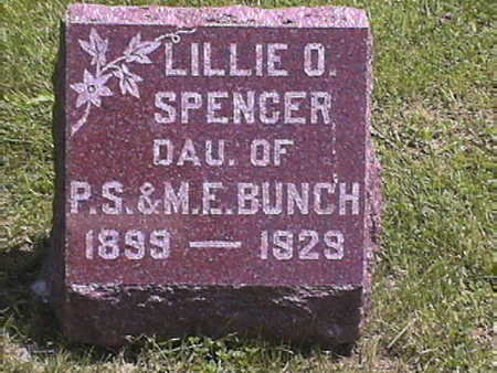 SPENCER, LILLIE .O - Harrison County, Iowa | LILLIE .O SPENCER