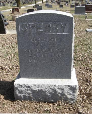OLIVER SPERRY, GENEVIEVE - Harrison County, Iowa | GENEVIEVE OLIVER SPERRY