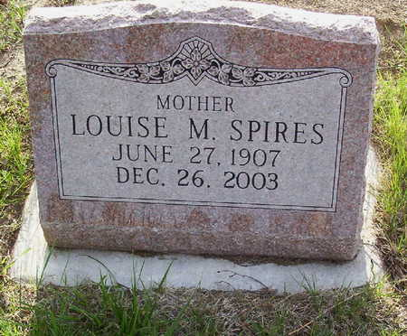 SPIRES, LOUISE M. - Harrison County, Iowa | LOUISE M. SPIRES