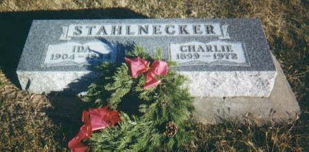 STAHLNECKER, CHARLIE - Harrison County, Iowa | CHARLIE STAHLNECKER