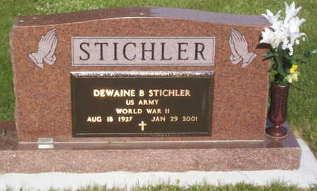 STICHLER, DEWAINE B. - Harrison County, Iowa | DEWAINE B. STICHLER