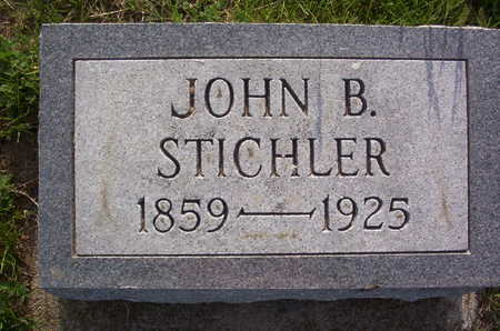 STICHLER, JOHN B. - Harrison County, Iowa | JOHN B. STICHLER