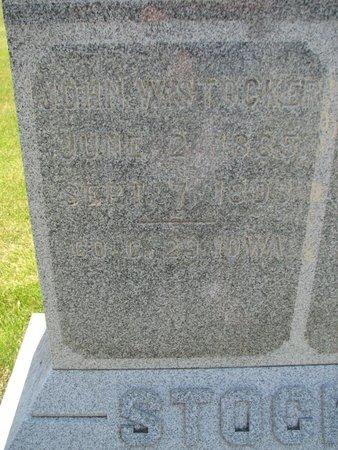 STOCKER, JOHN W - Harrison County, Iowa | JOHN W STOCKER