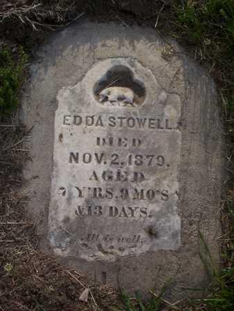 STOWELL, EDDA - Harrison County, Iowa | EDDA STOWELL