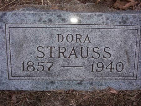 STRAUSS, CAROLIDA ISADORE (DORA) - Harrison County, Iowa | CAROLIDA ISADORE (DORA) STRAUSS