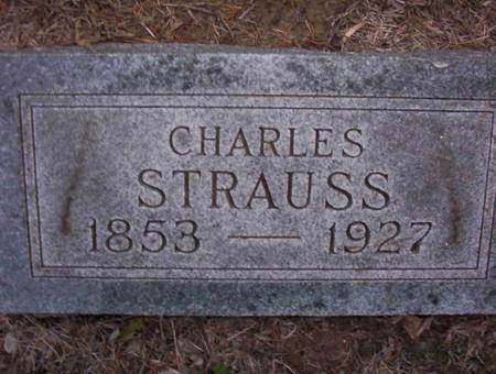 STRAUSS, CHARLES A - Harrison County, Iowa | CHARLES A STRAUSS
