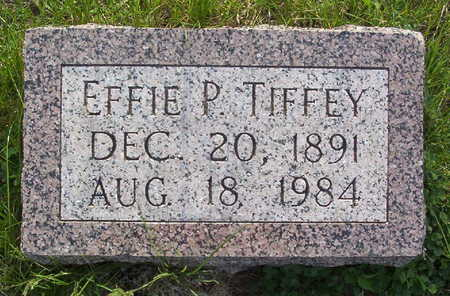 TIFFEY, EFFIE PEARL - Harrison County, Iowa | EFFIE PEARL TIFFEY