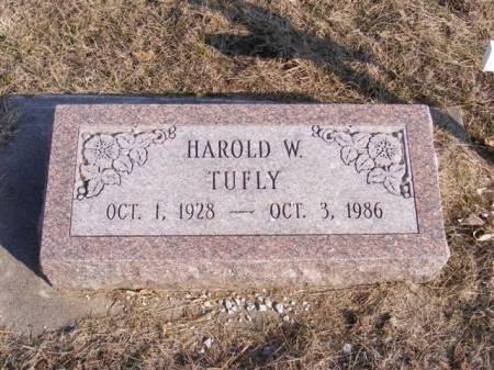 TUFLY, HAROLD WAYNE - Harrison County, Iowa | HAROLD WAYNE TUFLY