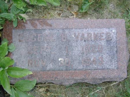 VARNES, EUGENE B - Harrison County, Iowa   EUGENE B VARNES