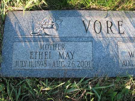 VORE, ETHEL MAY - Harrison County, Iowa | ETHEL MAY VORE