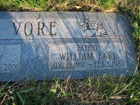 VORE, WILLIAM EARL - Harrison County, Iowa | WILLIAM EARL VORE