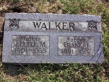 WALKER, LOUELL M - Harrison County, Iowa | LOUELL M WALKER