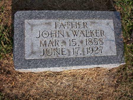 WALKER, JOHN FRANCIS - Harrison County, Iowa | JOHN FRANCIS WALKER