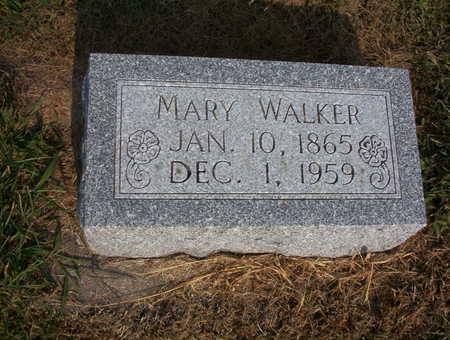 WALKER, MARY L. - Harrison County, Iowa | MARY L. WALKER
