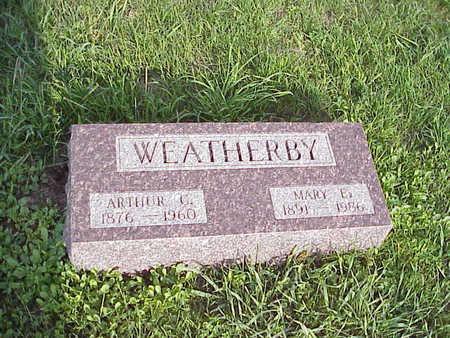WEATHERBY, ARTHUR CLARENCE - Harrison County, Iowa | ARTHUR CLARENCE WEATHERBY
