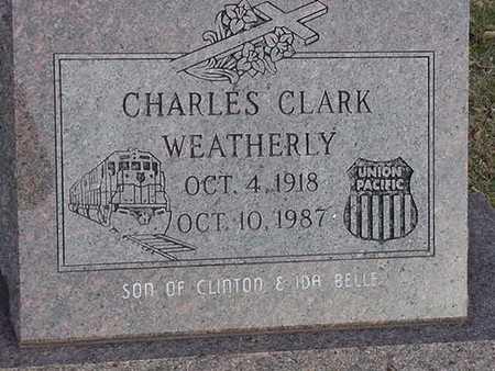 WEATHERLY, CHARLES CLARK - Harrison County, Iowa | CHARLES CLARK WEATHERLY