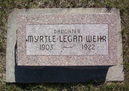 WEHR, MYRTLE - Harrison County, Iowa | MYRTLE WEHR