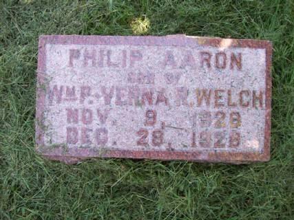 WELCH, PHILIP AARON - Harrison County, Iowa | PHILIP AARON WELCH