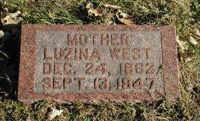 WEST, LUZINA - Harrison County, Iowa | LUZINA WEST