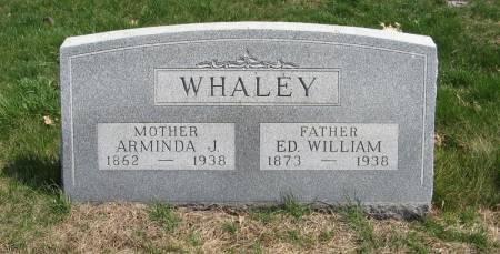 WHALEY, ED. WILLIAM - Harrison County, Iowa | ED. WILLIAM WHALEY