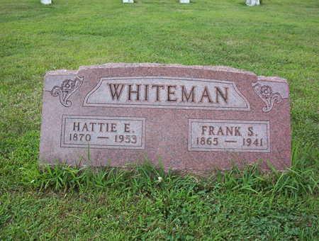 BRASEE WHITEMAN, HATTIE ESTELLA - Harrison County, Iowa | HATTIE ESTELLA BRASEE WHITEMAN