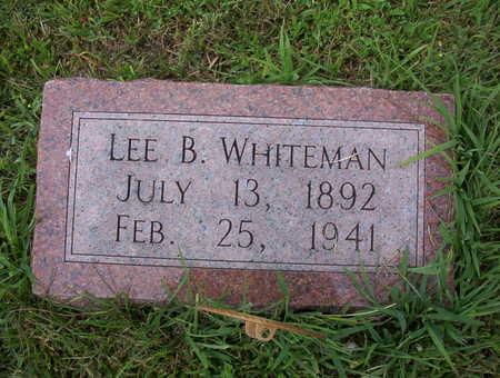 WHITEMAN, LEE B. - Harrison County, Iowa | LEE B. WHITEMAN