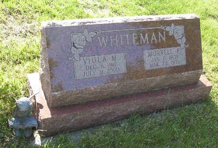 WHITEMAN, MORRELL FRANKLIN - Harrison County, Iowa | MORRELL FRANKLIN WHITEMAN