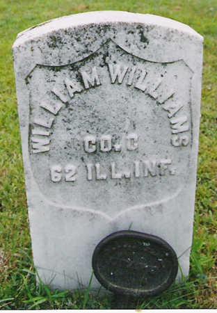 WILLIAMS, WILLIAM A. - Harrison County, Iowa   WILLIAM A. WILLIAMS