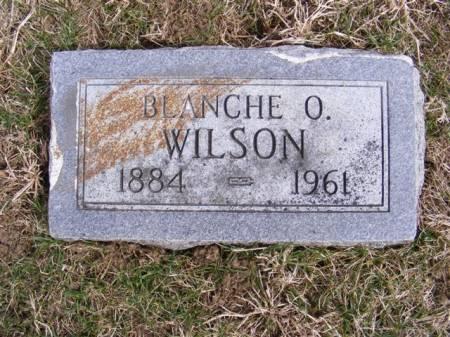 BUNTON WILSON, BLANCHE OLIVE - Harrison County, Iowa | BLANCHE OLIVE BUNTON WILSON