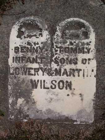 WILSON, TOMMY - Harrison County, Iowa   TOMMY WILSON