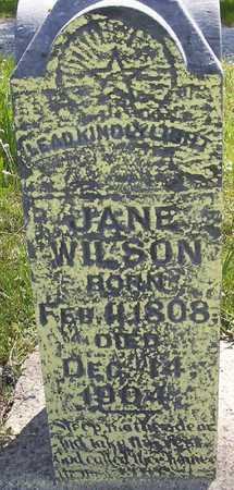 BOND WILSON, JANE - Harrison County, Iowa | JANE BOND WILSON