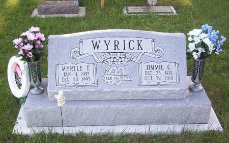 BUBENIK WYRICK, MYRTLE THERESA - Harrison County, Iowa | MYRTLE THERESA BUBENIK WYRICK