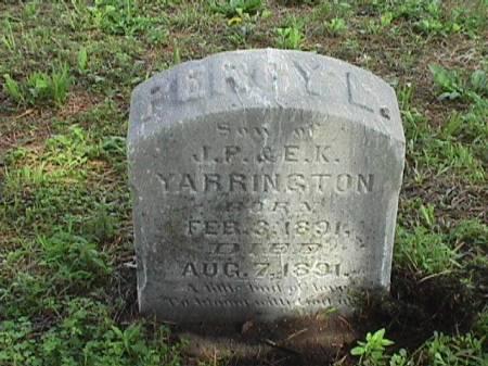 YARRINGTON, PERCY L - Harrison County, Iowa | PERCY L YARRINGTON